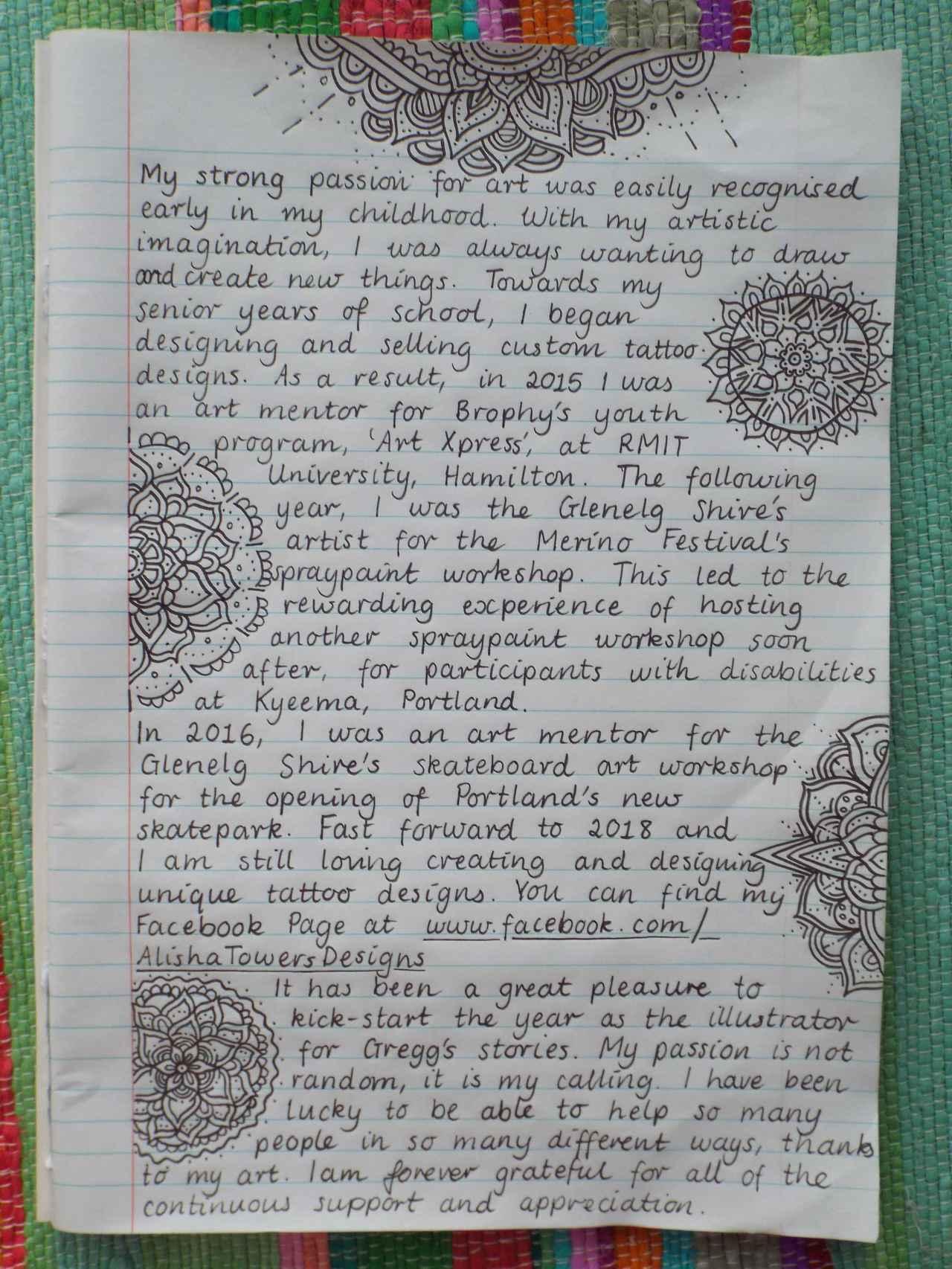 Alisha Handwritten Bio [Smaller jpg]