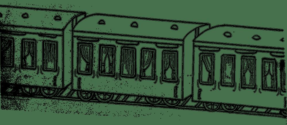 Alisha Towers - Man and the Train